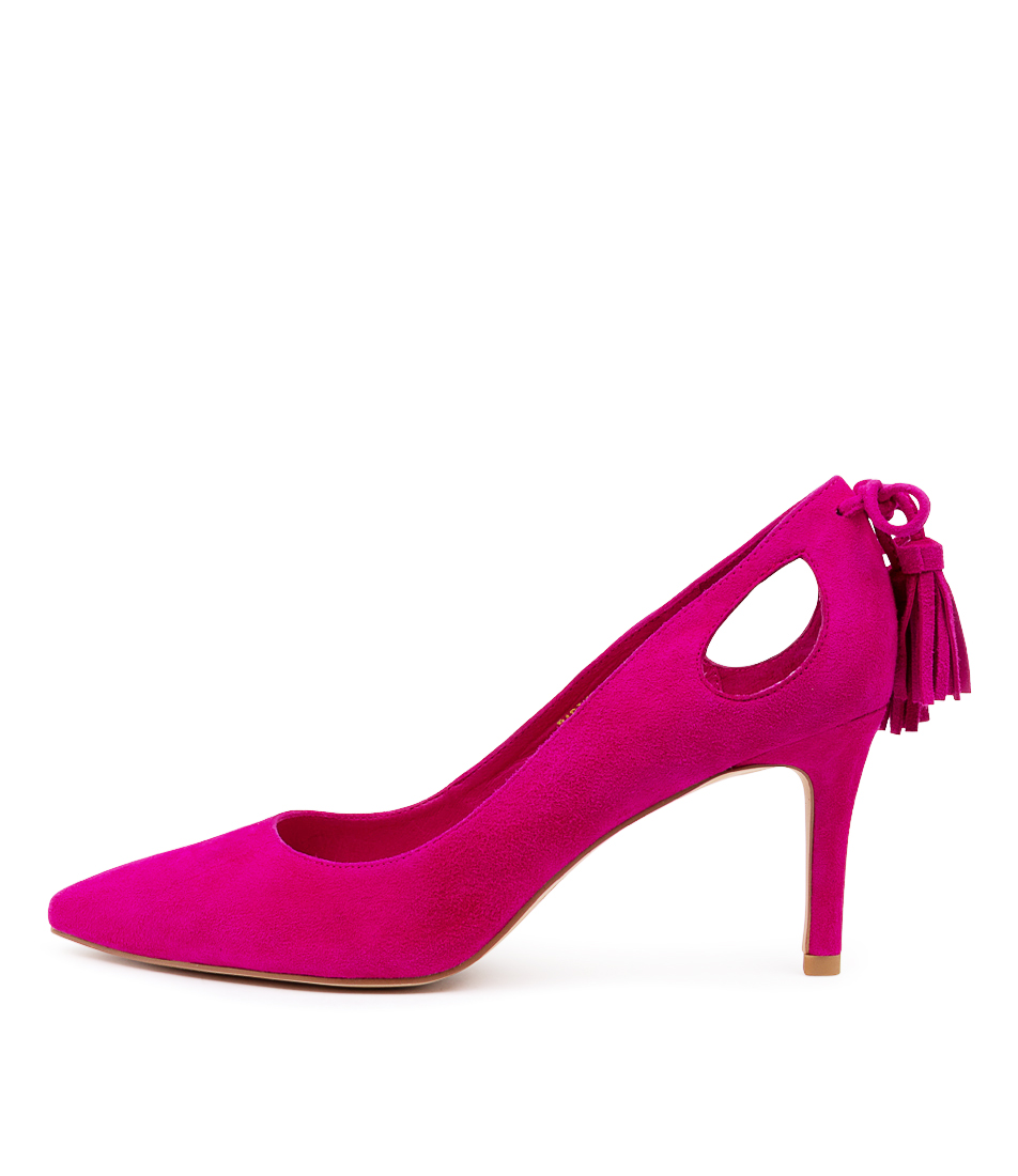 Buy Top End Baring To Fuchsia High Heels online with free shipping
