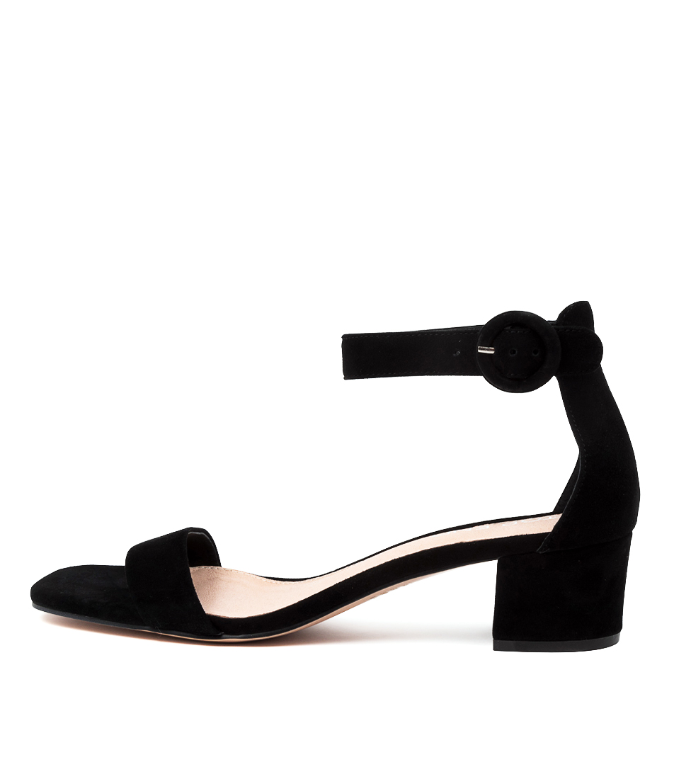Buy Top End Drynon To Black Heeled Sandals online with free shipping
