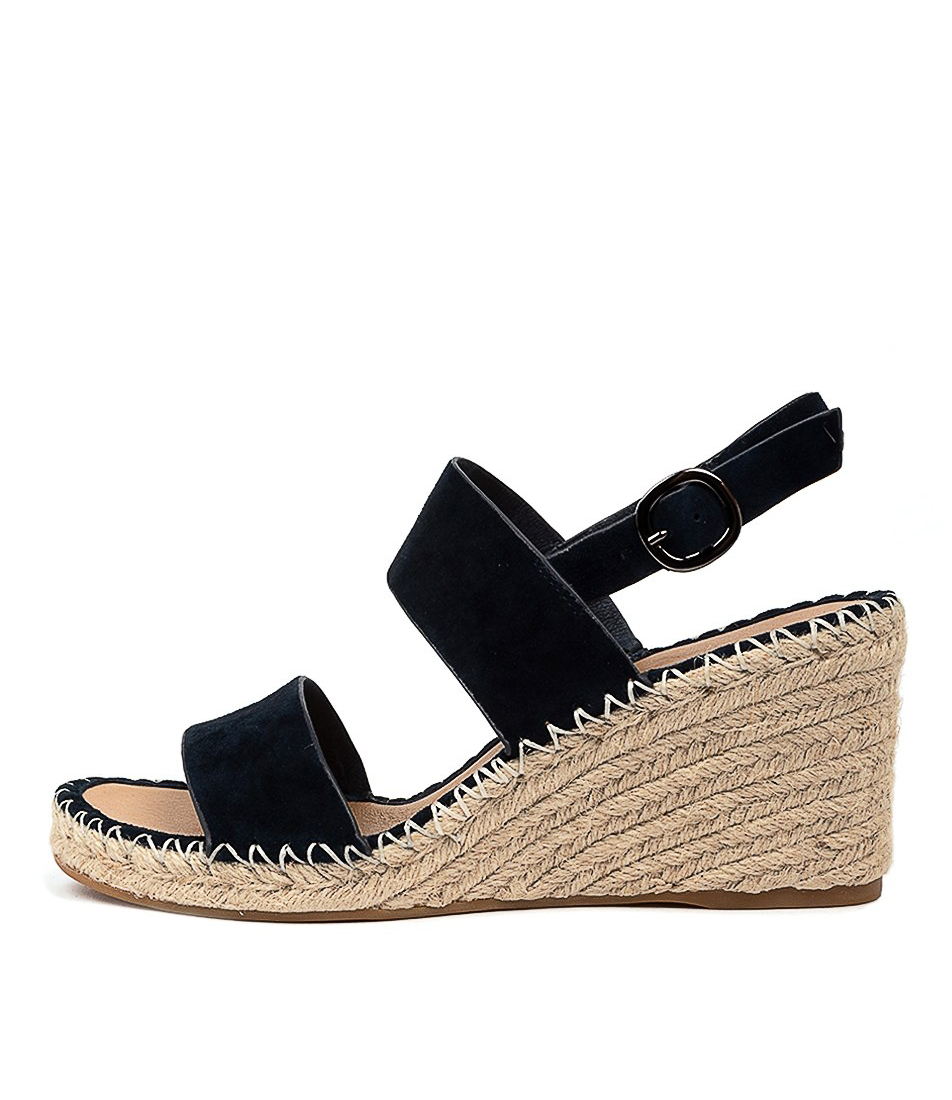 Buy Top End Gaga To Navy Heeled Sandals online with free shipping