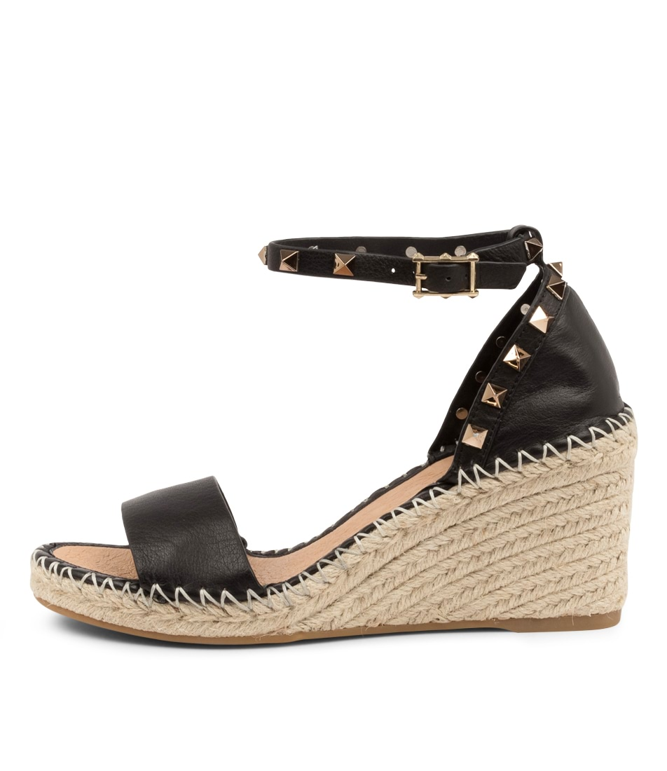 Buy Top End Gigi To Black Heeled Sandals online with free shipping