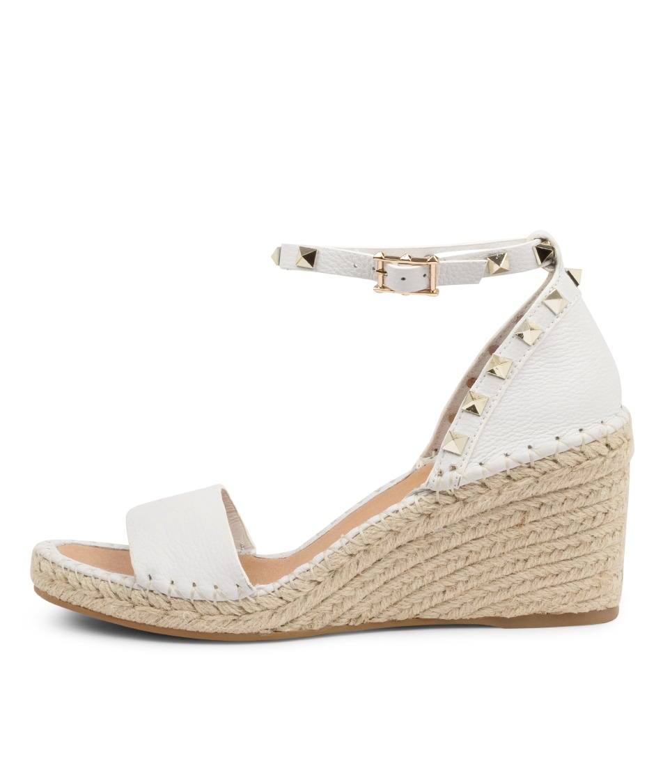 Buy Top End Gigi To WhiteHeeled Sandals online with free shipping