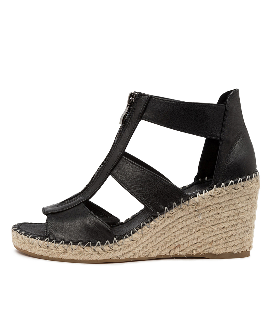 Buy Top End Gogo To Black Heeled Sandals online with free shipping