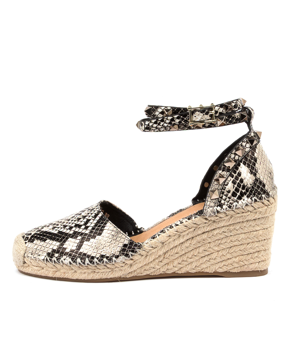 Buy Top End Judi To Black & Natural High Heels online with free shipping