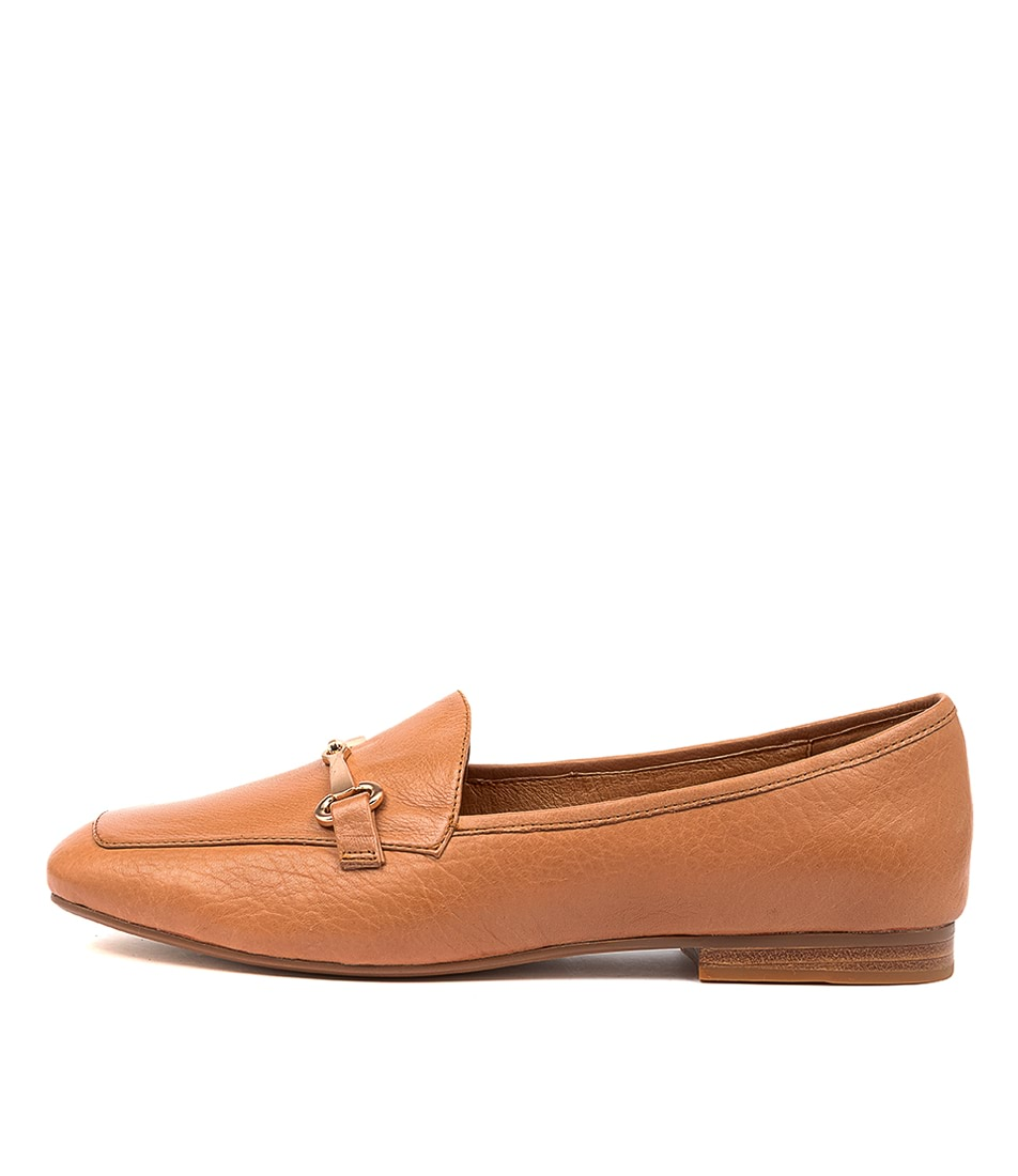 Buy Top End Mena To Dk Tan Flats online with free shipping