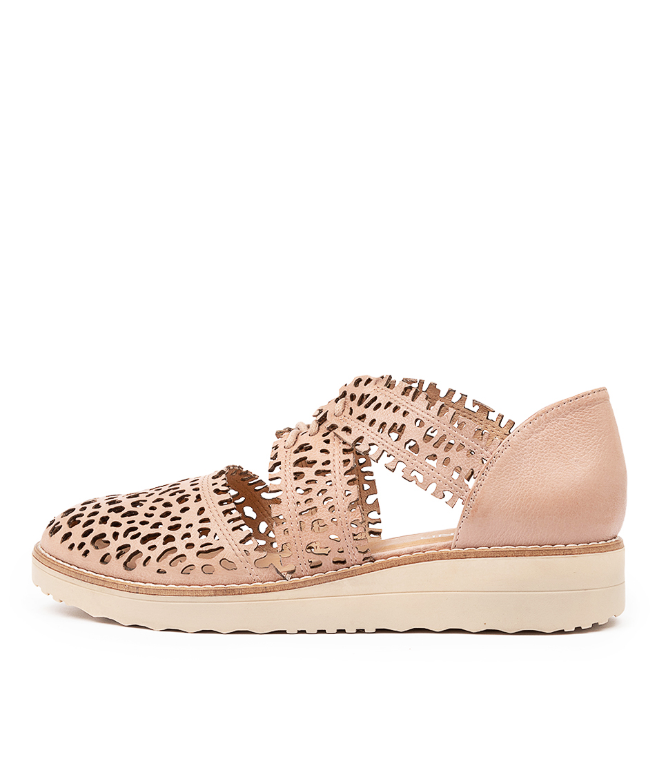 Buy Top End Olay To Cafe Nude Sole Flats online with free shipping