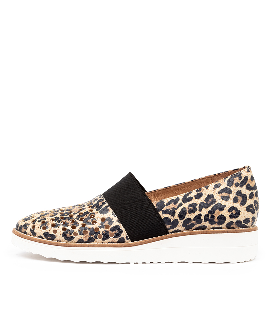 Buy Top End Onto To Ocelot White Sole Flats online with free shipping