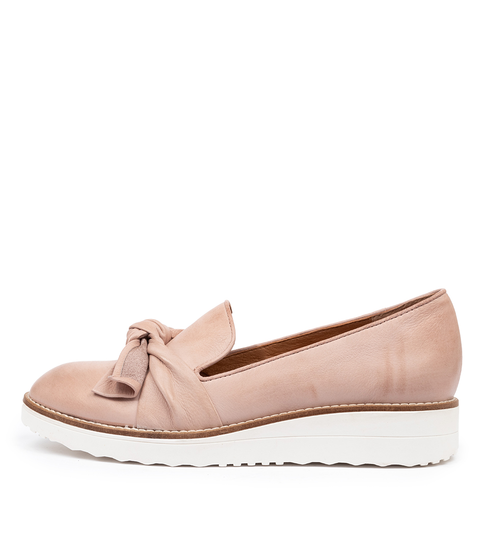 Buy Top End Over To Rose White Sole Flats online with free shipping