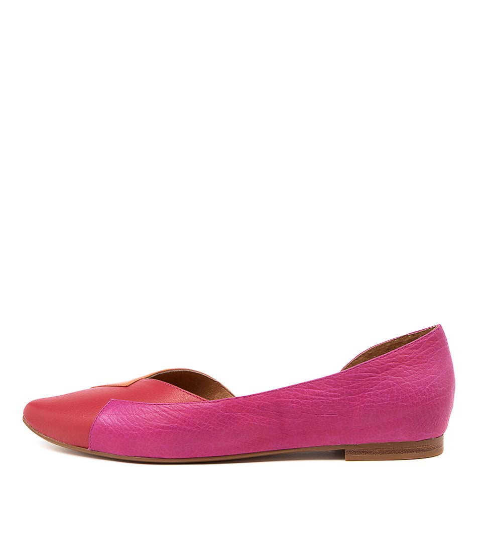 Buy Top End Sara To Red Flats online with free shipping