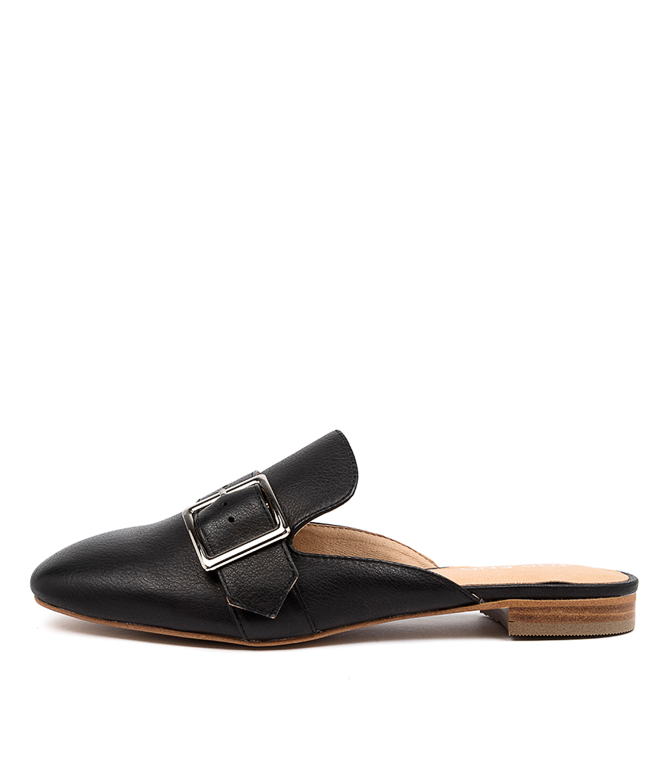 Buy Top End Sylvie To Black Flats online with free shipping