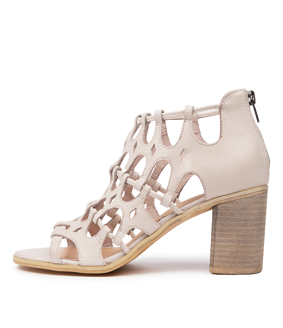 Buy Top End Wallace To Nougat Heeled Sandals online with free shipping