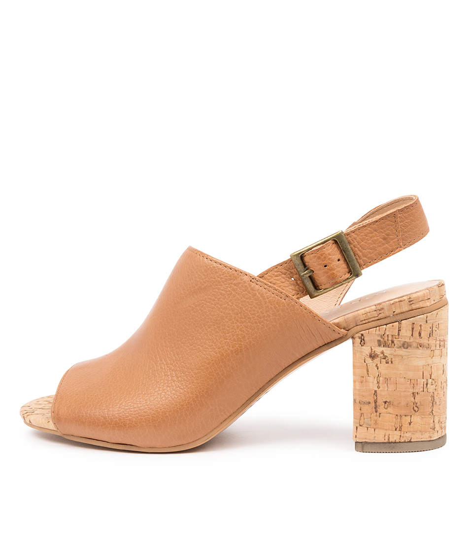 Buy Top End Willdo To Dk Tan Heeled Sandals online with free shipping