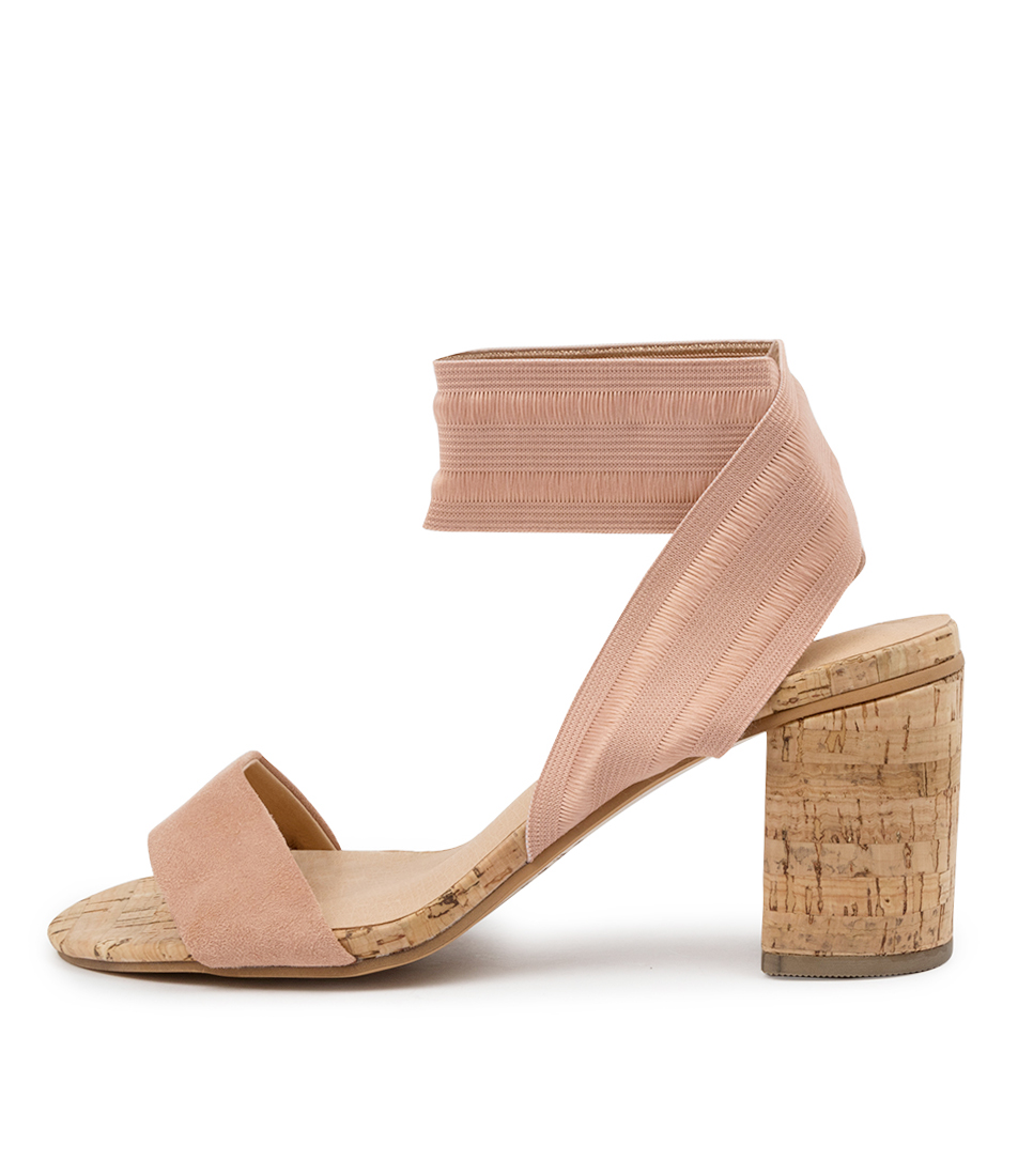 Buy Top End Woodson To Blush Blush Heeled Sandals online with free shipping