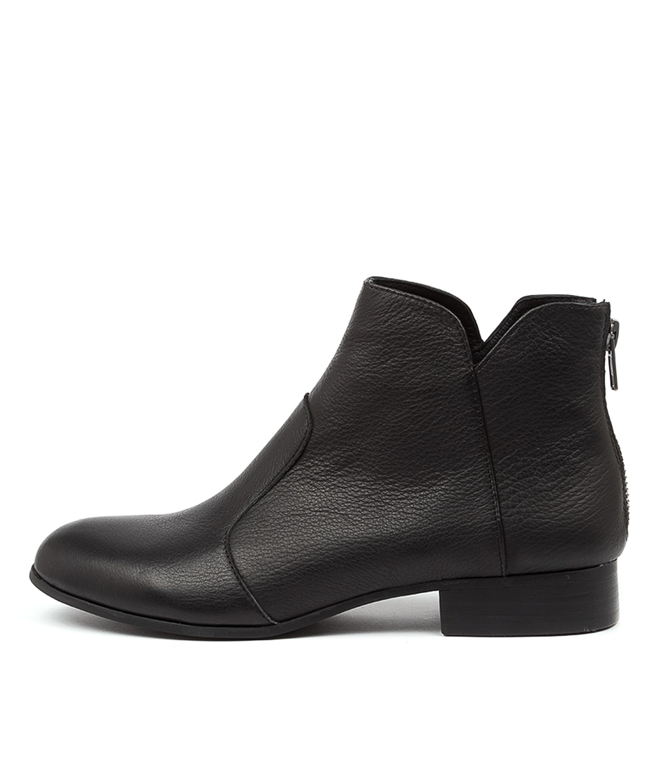 Buy Top End Fronia To Black Heel Ankle Boots online with free shipping