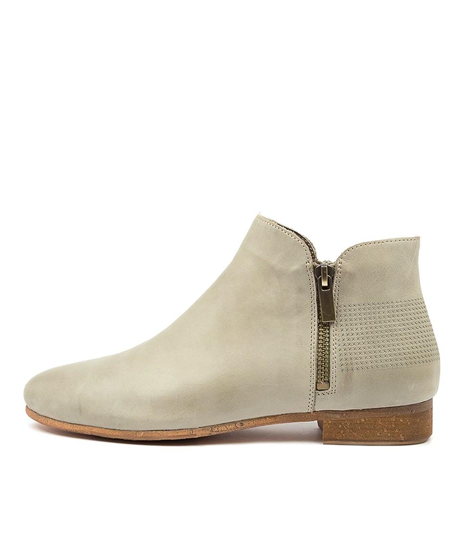 Buy Top End Rationalize Djto Khaki Ankle Boots online with free shipping