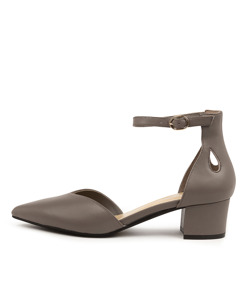 Buy Top End Aliza To Charcoal High Heels online with free shipping