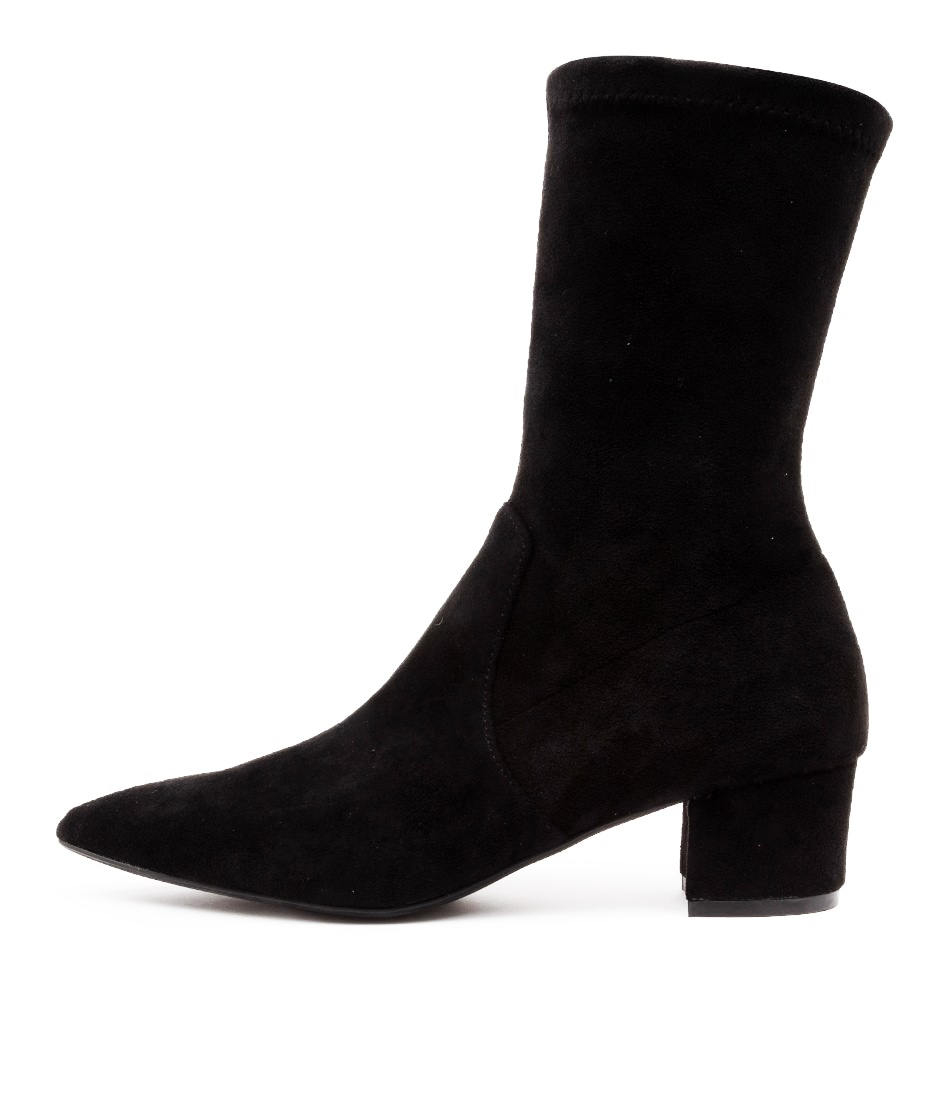Buy Top End Auston To Black Ankle Boots online with free shipping