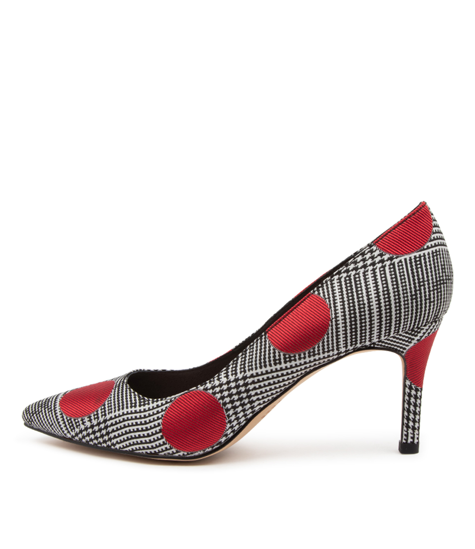 Buy Top End Borat To Black & Red High Heels online with free shipping
