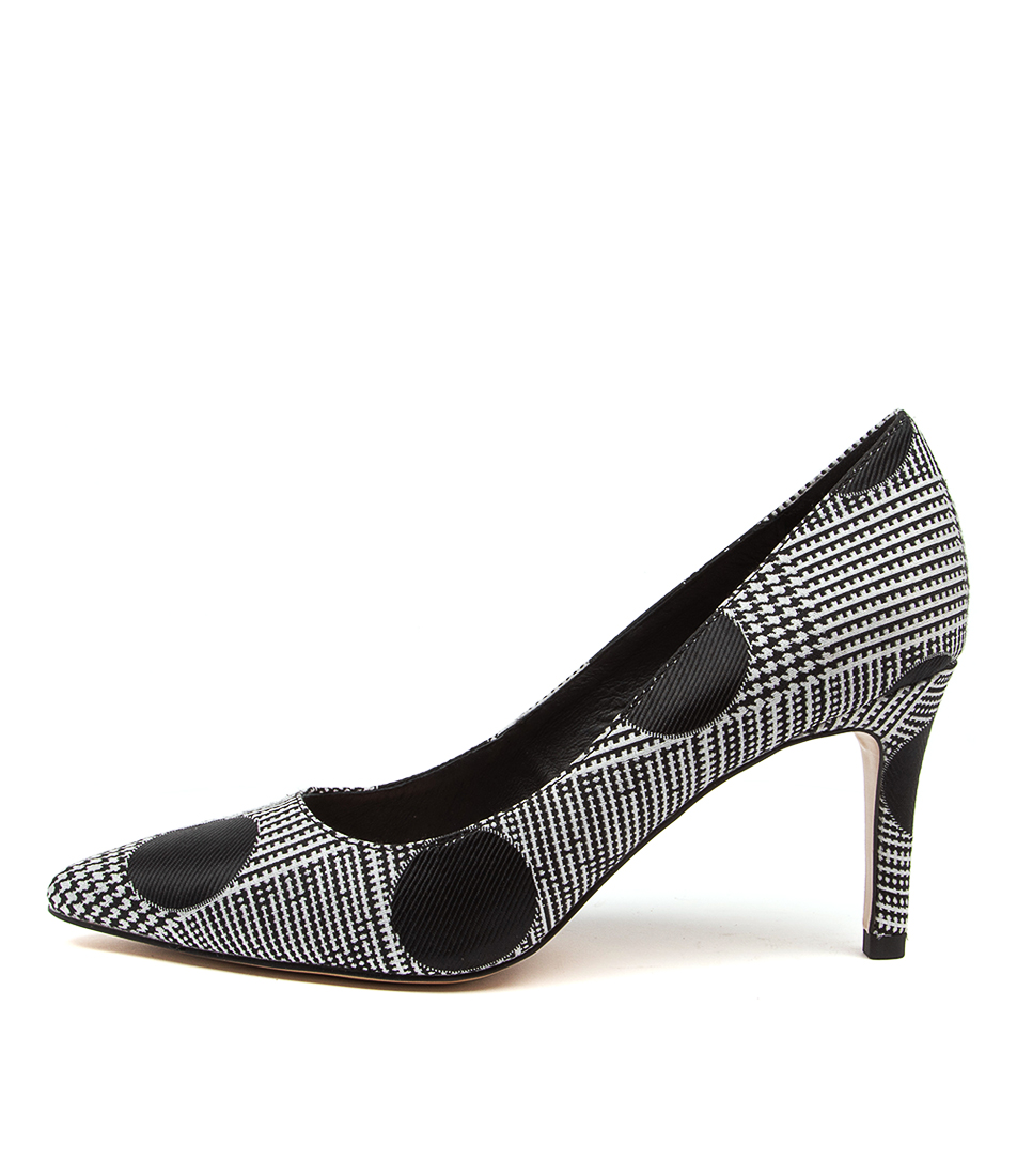 Buy Top End Borat To Black & Black High Heels online with free shipping