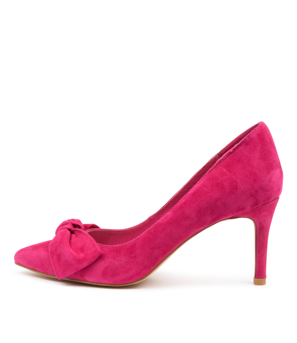 Buy Top End Bullish To Fuchsia High Heels online with free shipping