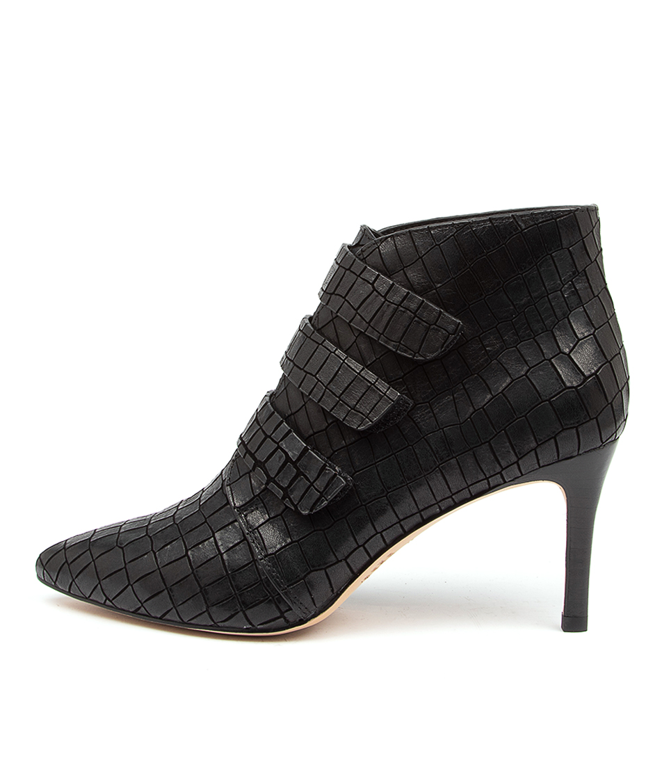 Buy Top End Boston To Black Ankle Boots online with free shipping