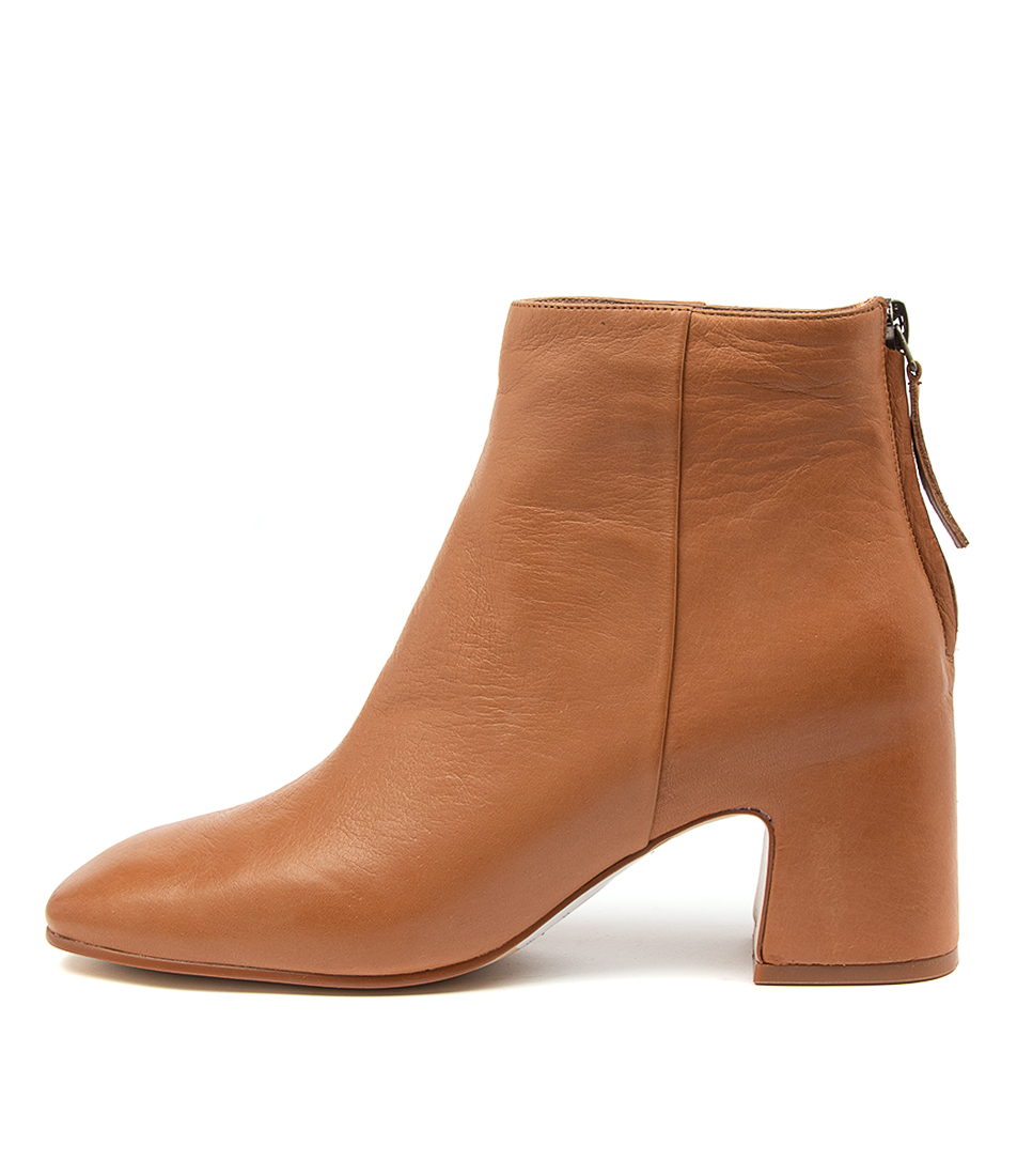 Buy Top End Faylee To Dk Tan Ankle Boots online with free shipping