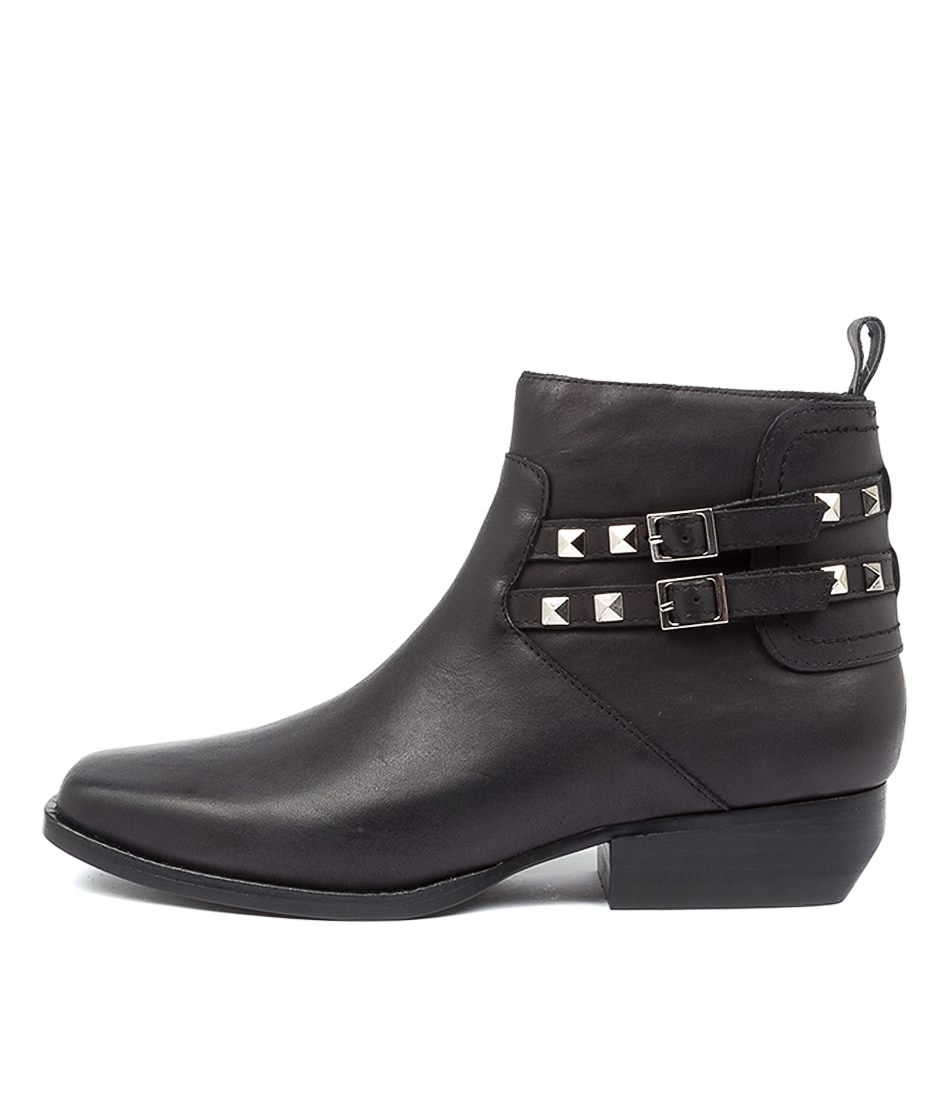 Buy Top End Gunlow To Black Heel Ankle Boots online with free shipping