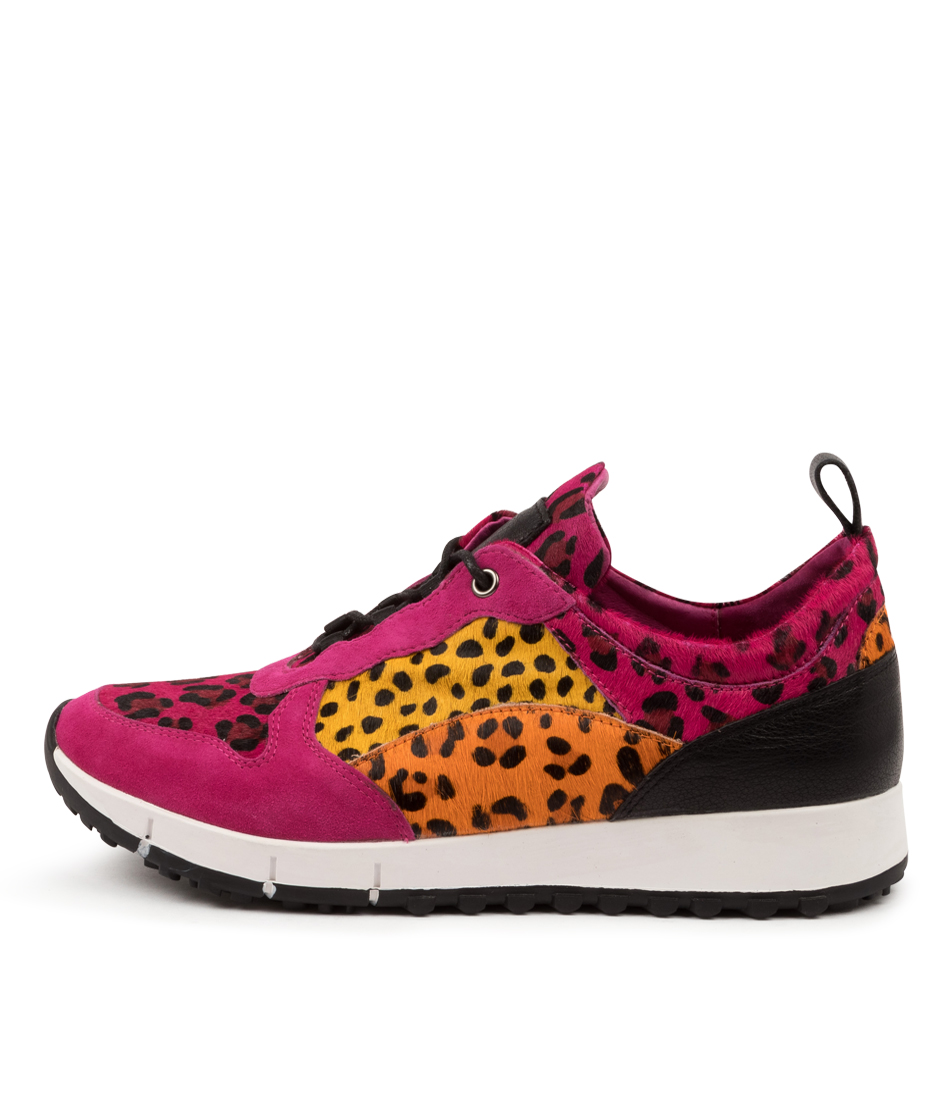 Buy Top End Joya To Fuchsia Orange Sneakers online with free shipping