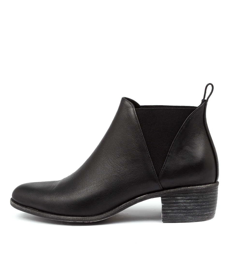 Buy Top End Jeriko To Black Ankle Boots online with free shipping