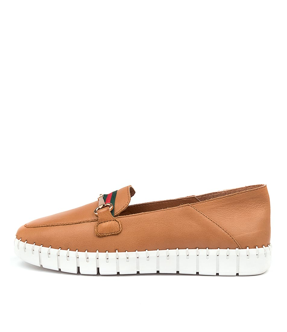 Buy Top End Koople To Dk Tan White Sole Sneakers online with free shipping