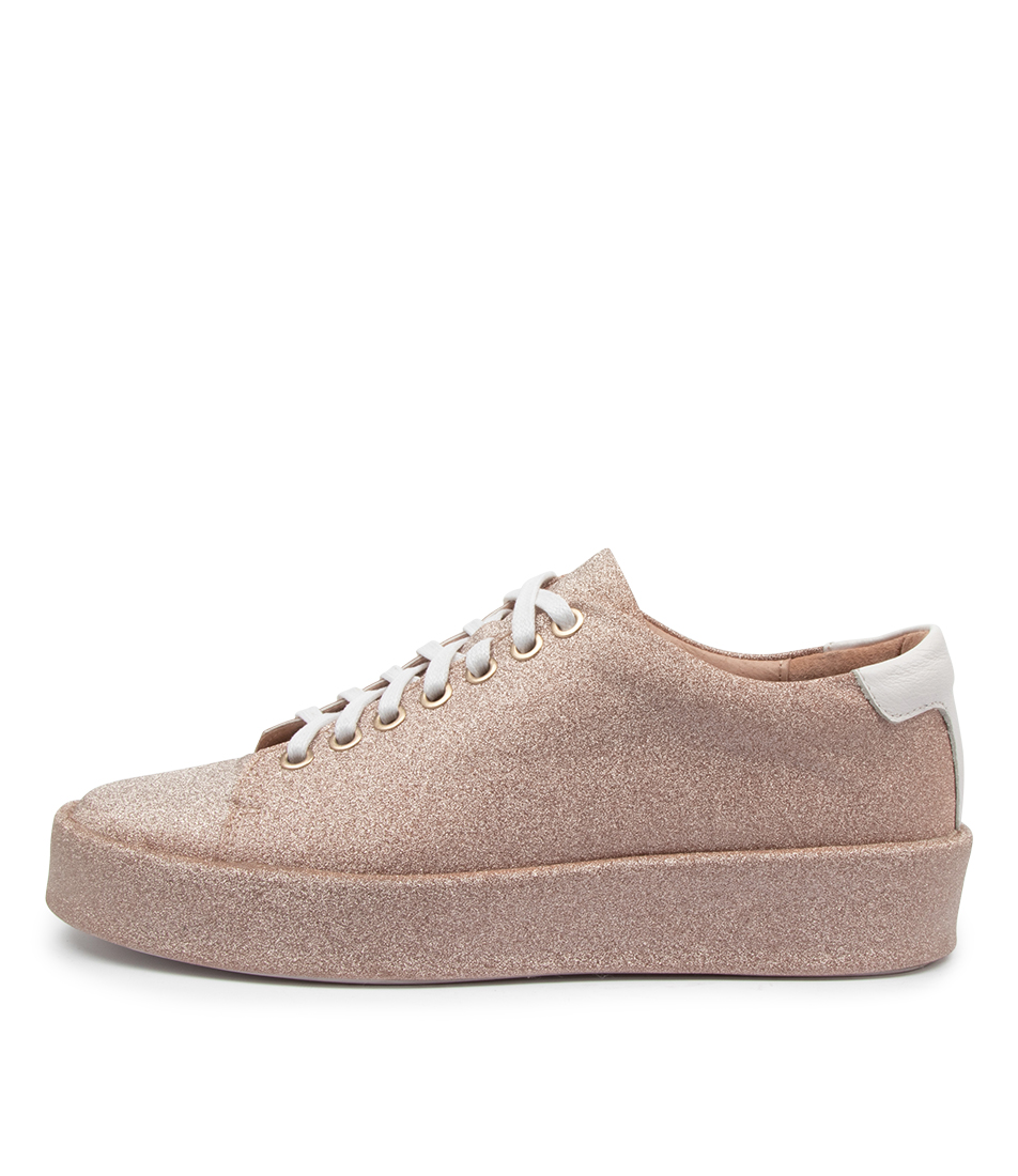 Buy Top End Lurex To Blush White Sneakers online with free shipping