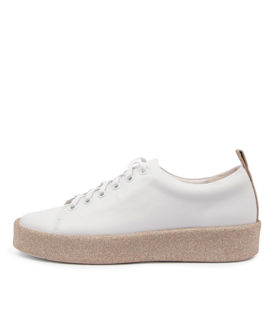 Buy Top End Lyrik To White Gold Sneakers online with free shipping