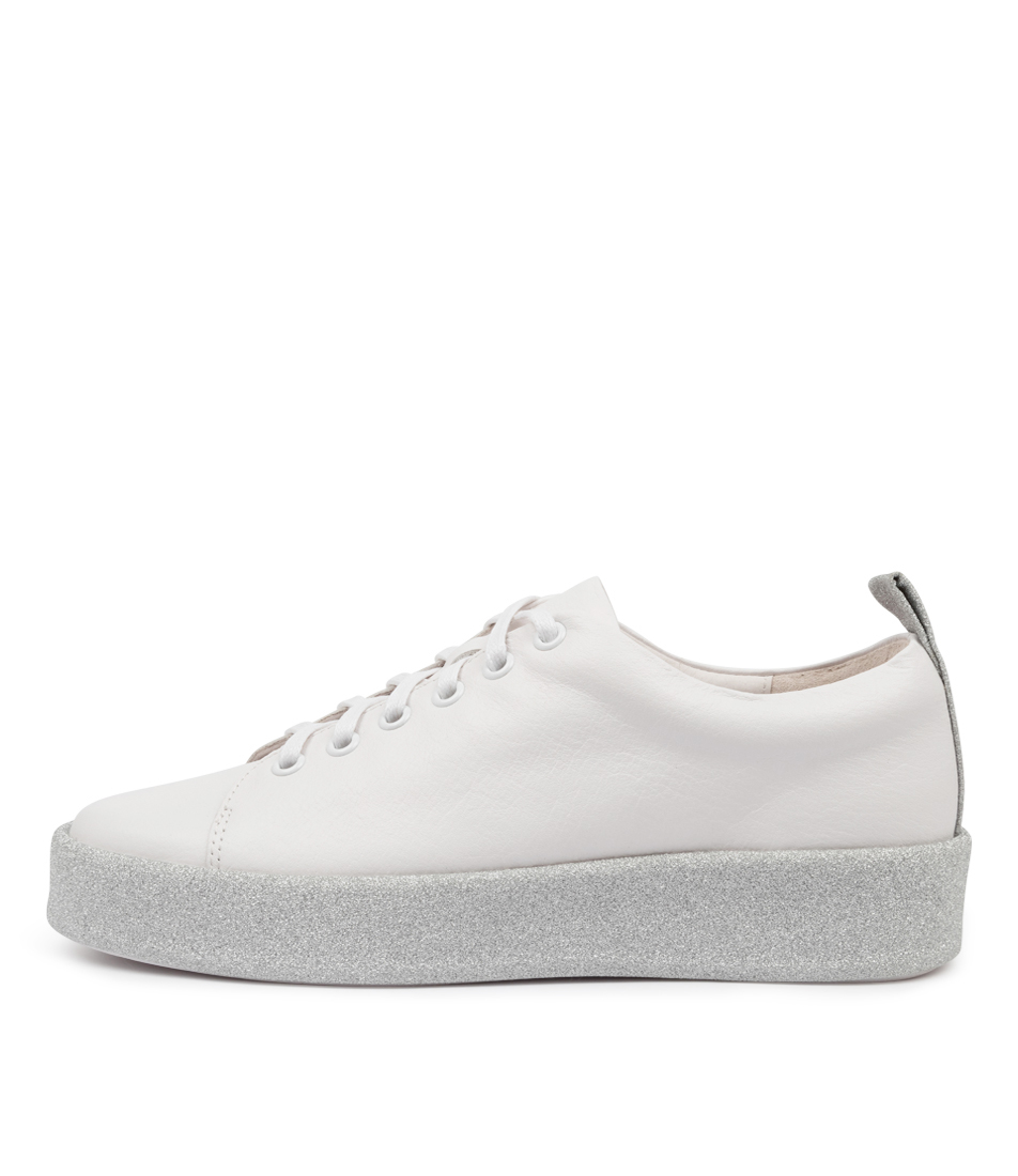 Buy Top End Lyrik To White Silver Sneakers online with free shipping