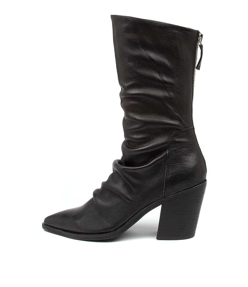 Buy Top End Mikette To Black Heel Calf Boots online with free shipping