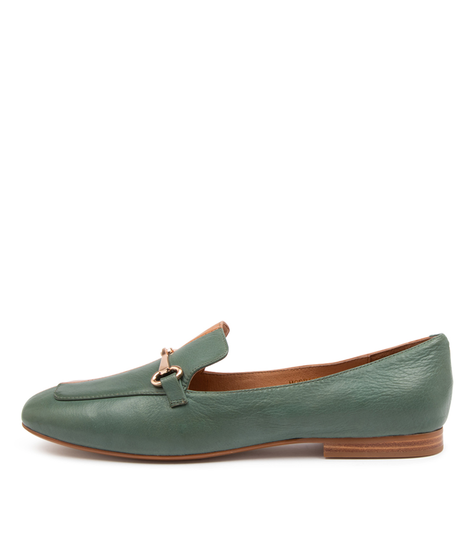 Buy Top End Morrice To Forest Dk Tan Flats online with free shipping