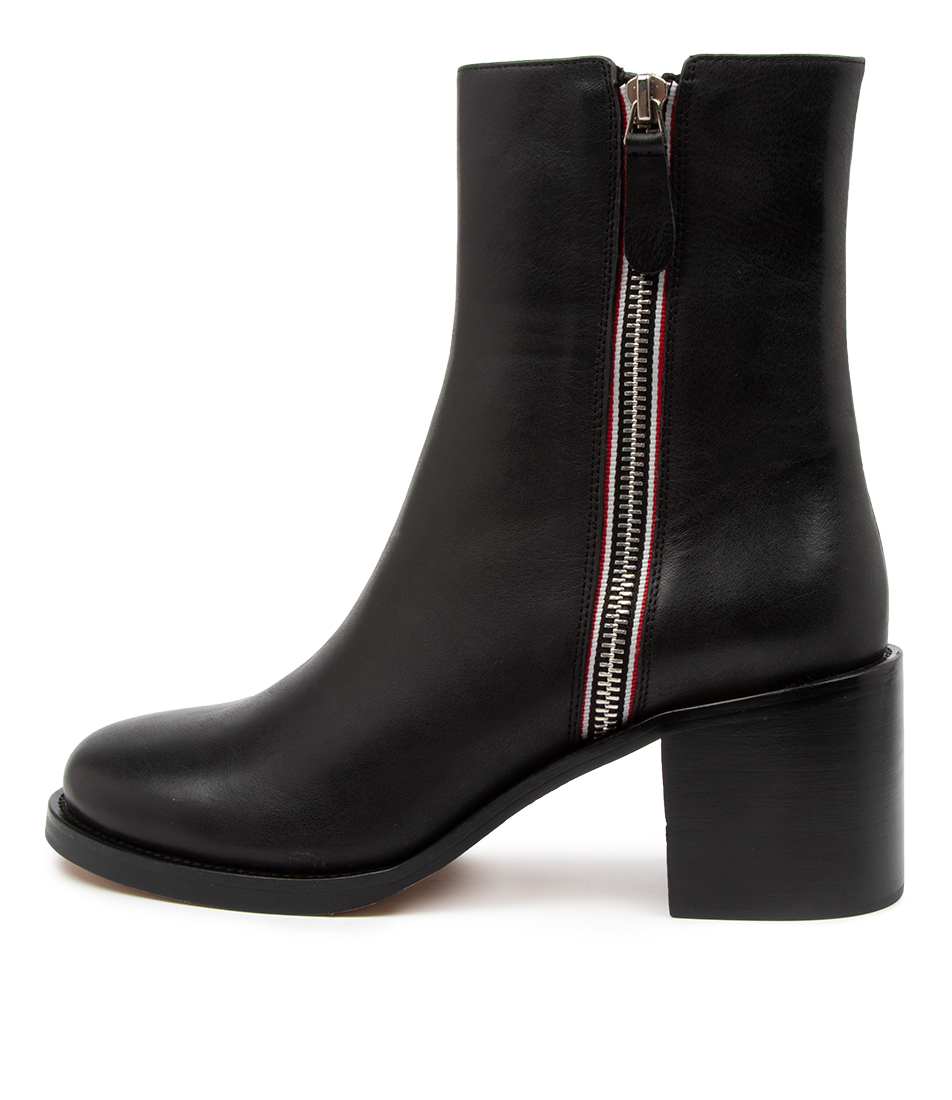 Buy Top End Nymphic To Black Ankle Boots online with free shipping