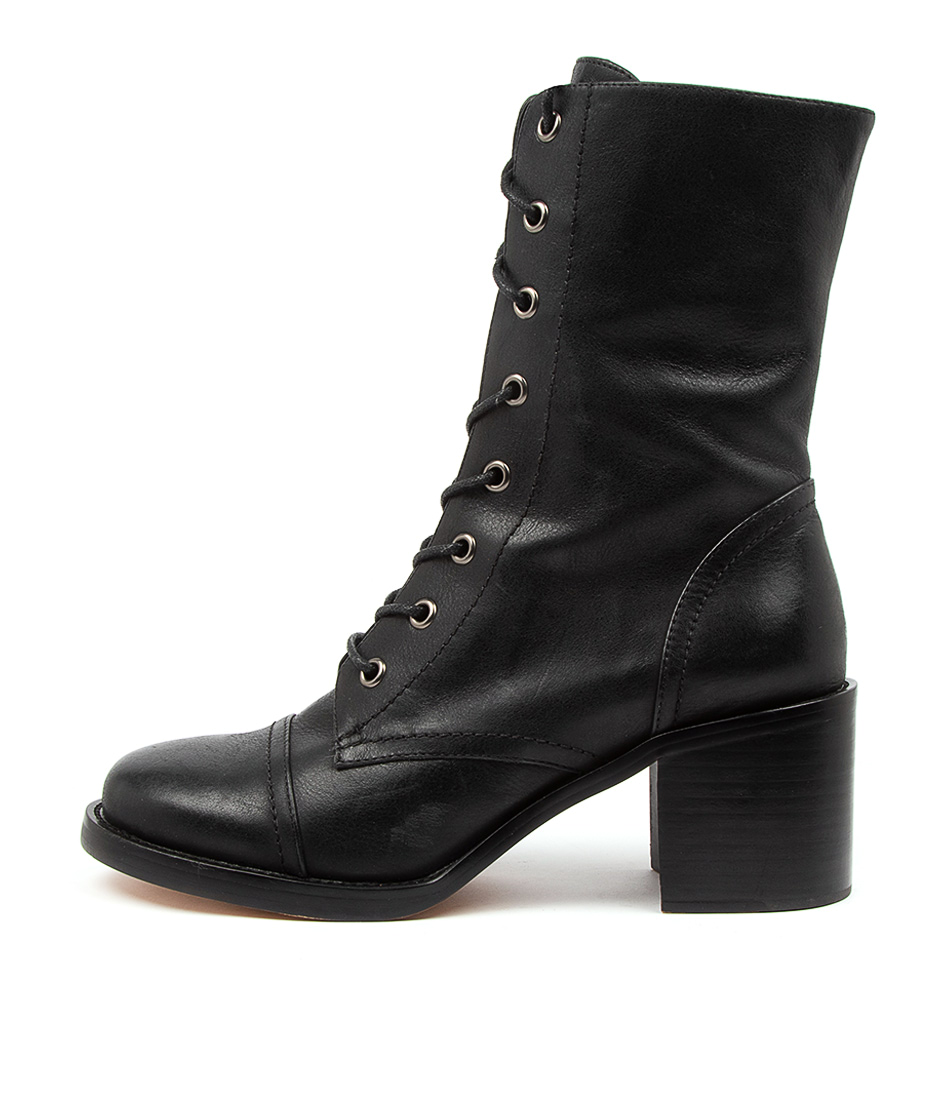 Buy Top End Natalie To Black Calf Boots online with free shipping
