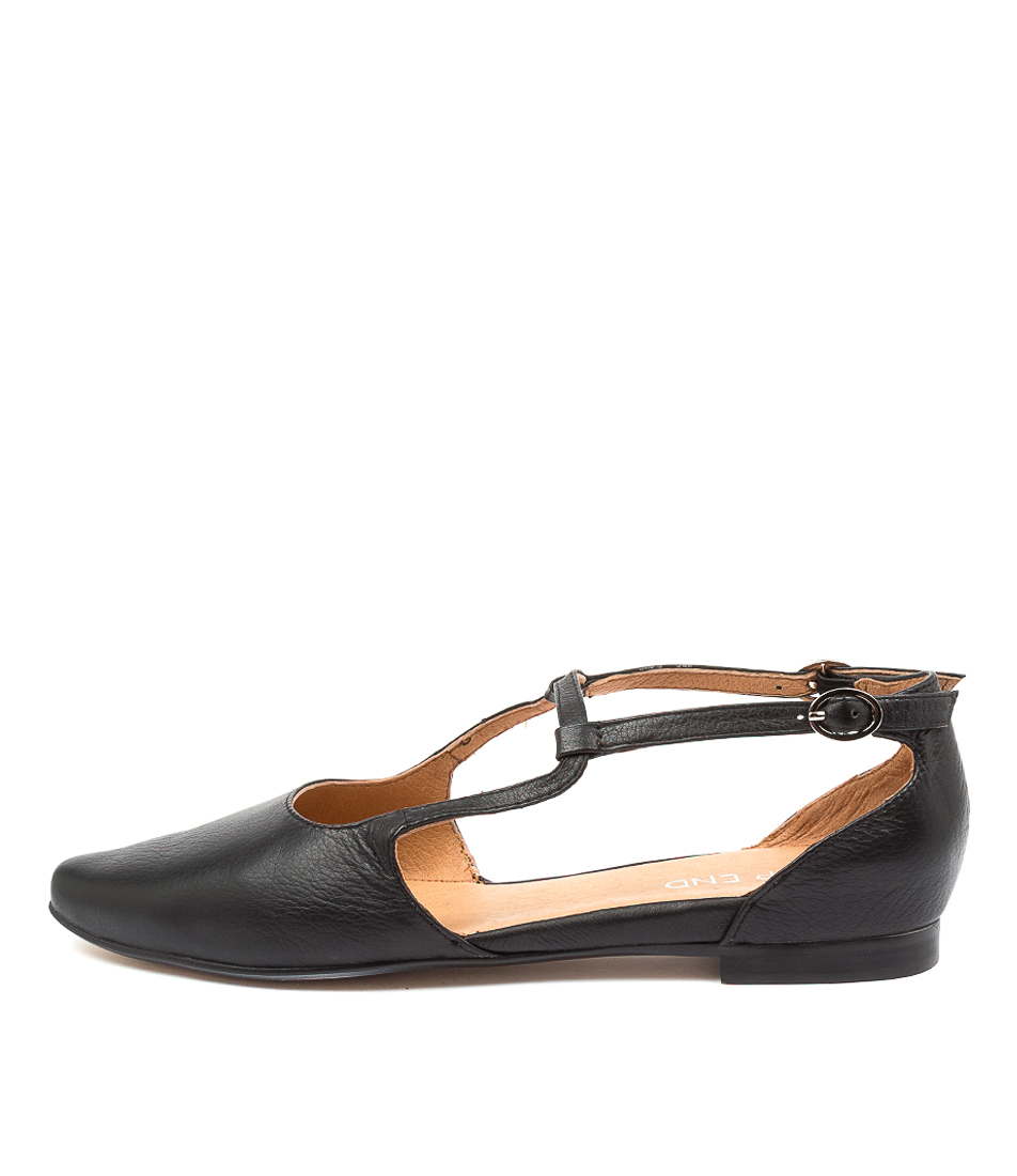 Buy Top End Slamie To Black Flats online with free shipping