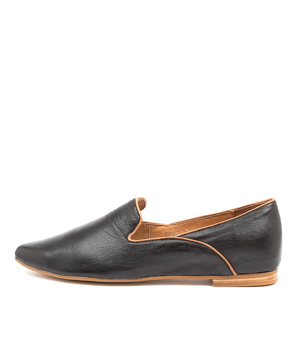 Buy Top End Sunset To Black Tan Flats online with free shipping