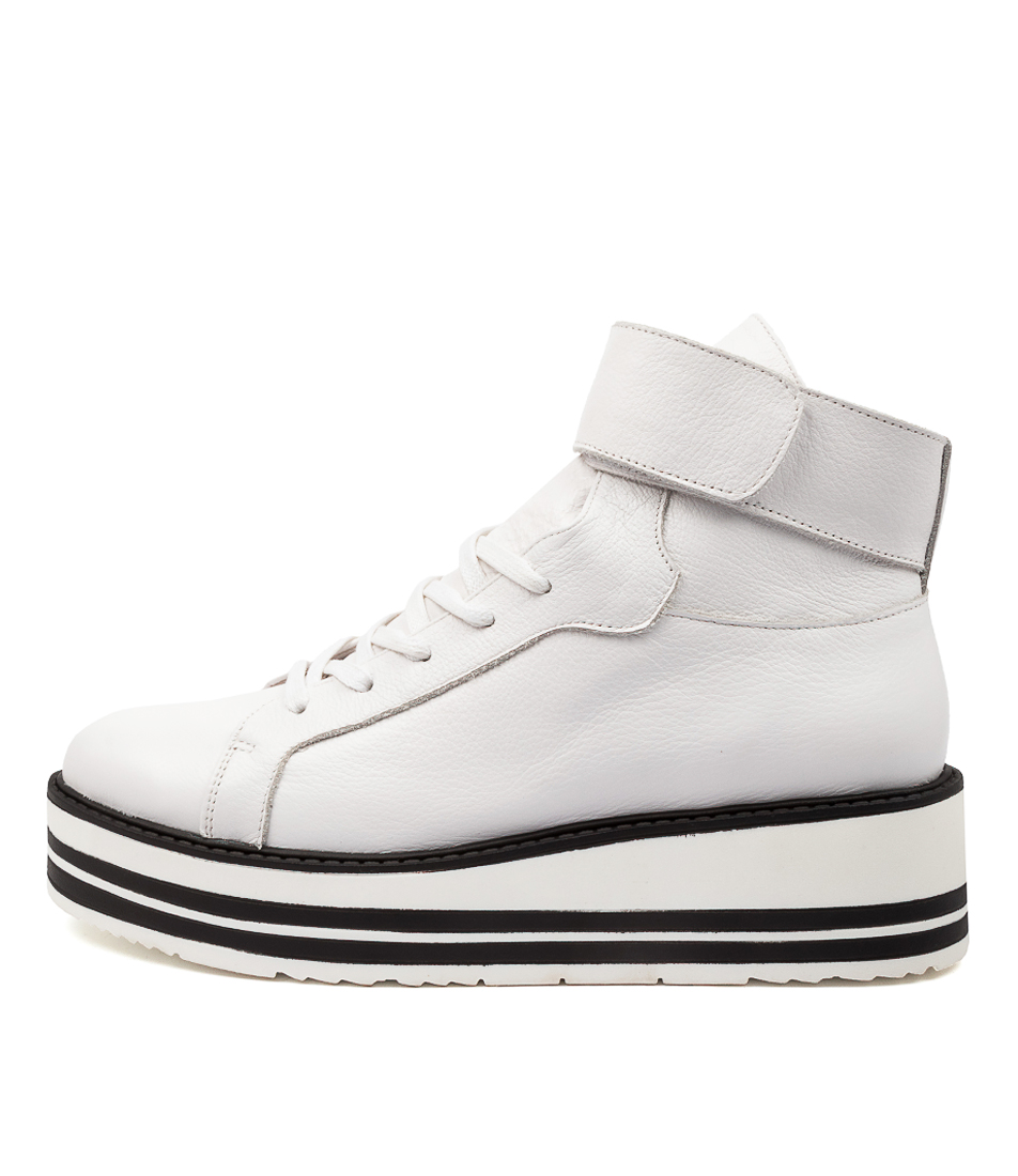 Buy Top End Sallie To White Ankle Boots online with free shipping