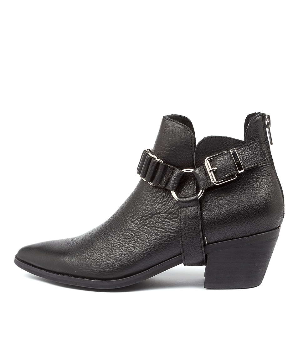 Buy Top End Teyana To Black Heel Ankle Boots online with free shipping