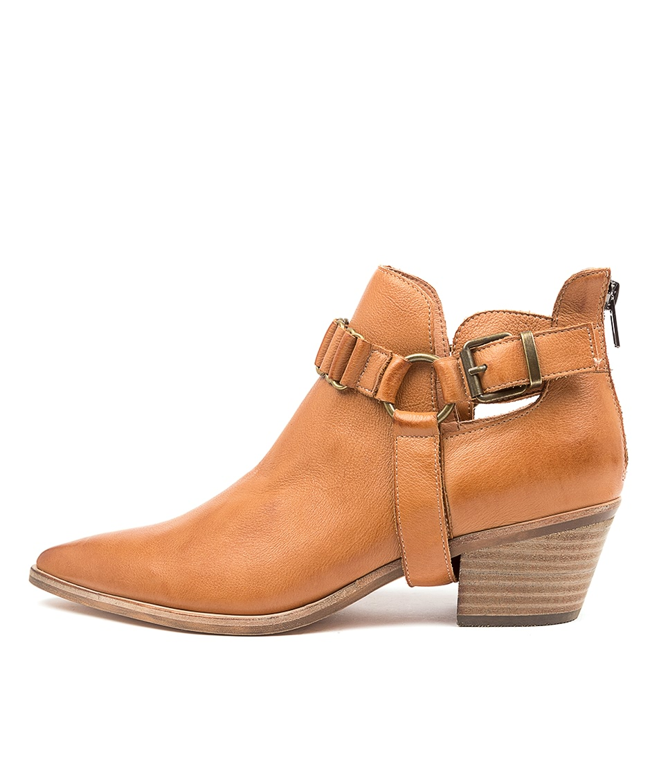 Buy Top End Teyana To Dk Tan Ankle Boots online with free shipping