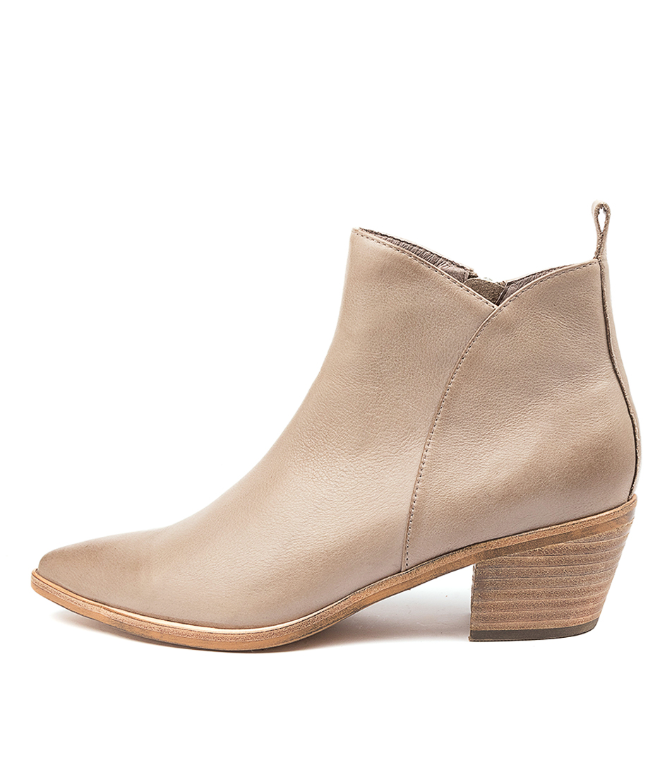 Buy Top End Tommie To Taupe Ankle Boots online with free shipping