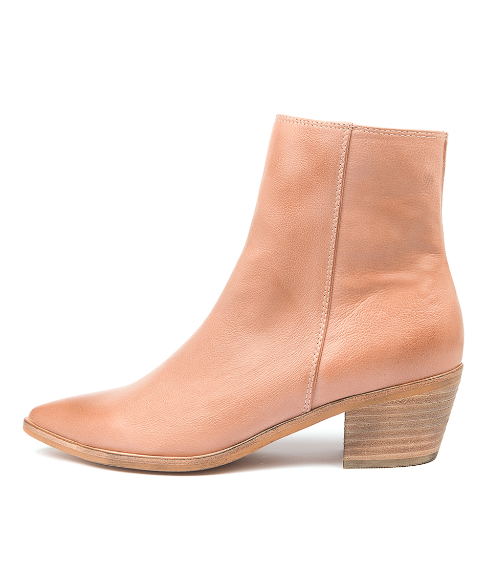Buy Top End Troppo To Warm Rose Ankle Boots online with free shipping