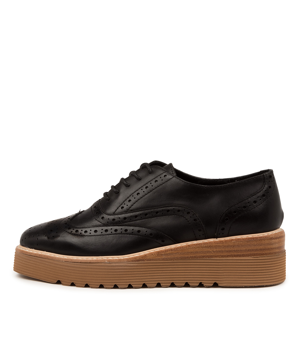 Buy Top End Uborn To Black Natural Veneer Flats online with free shipping