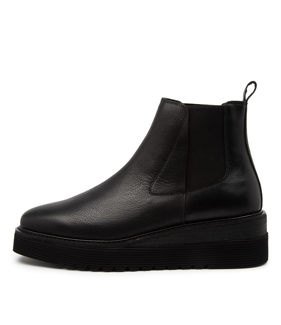Buy Top End Uvika To Black Ankle Boots online with free shipping