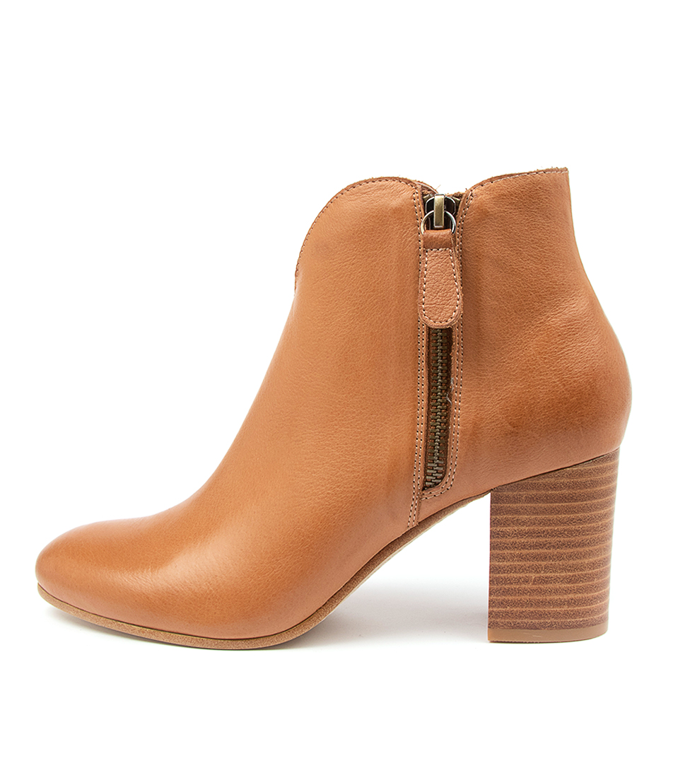Buy Top End Unicorn To Dk Tan Ankle Boots online with free shipping