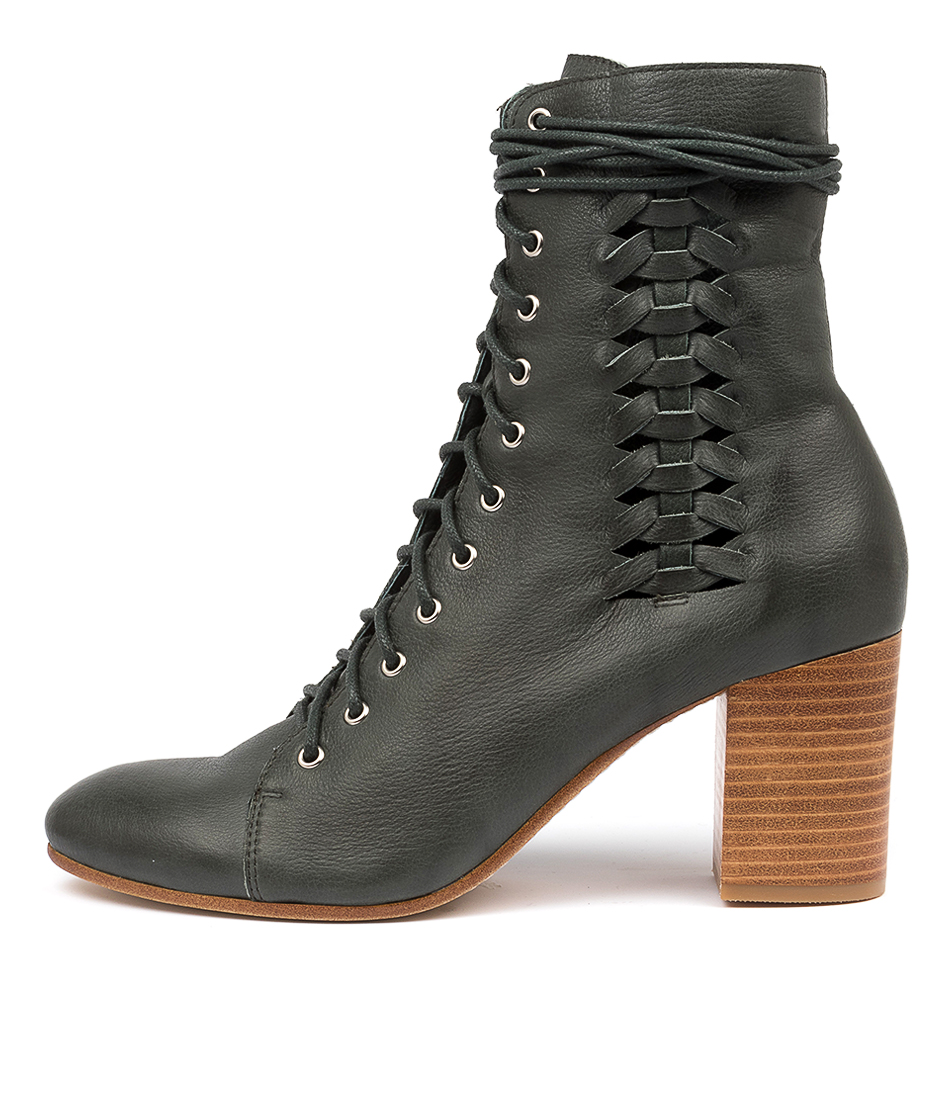 Buy Top End Undone To Forest Ankle Boots online with free shipping