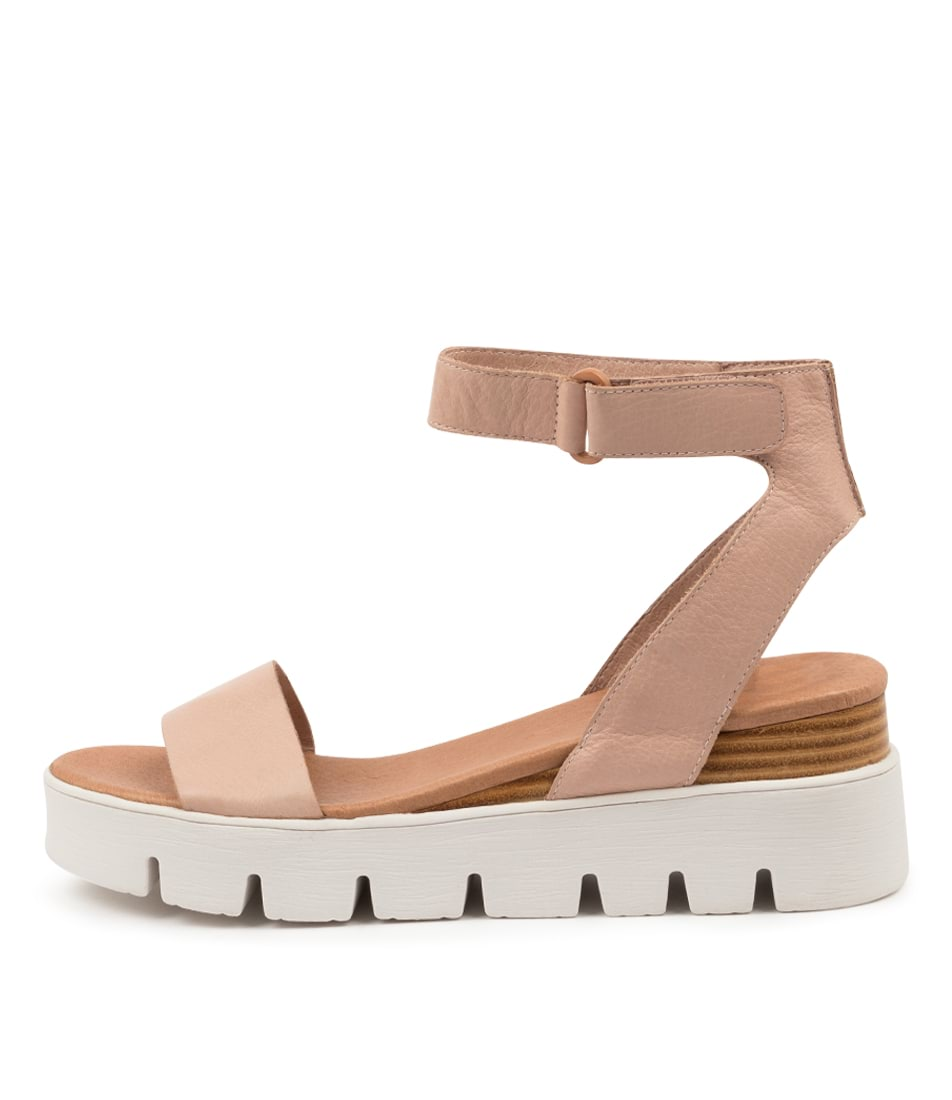 Buy Top End Rylitas To Dk Nude Flat Sandals online with free shipping