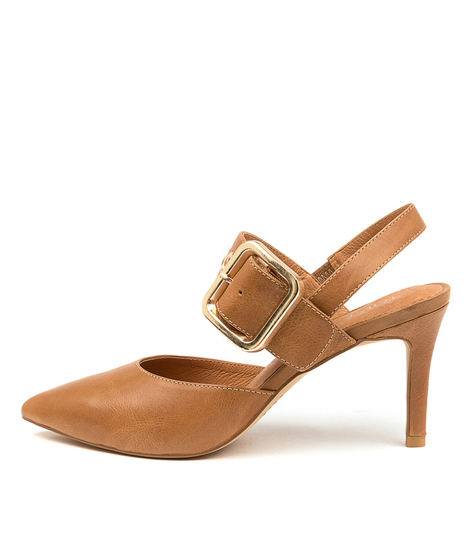 Buy Top End Brylie To Tan High Heels online with free shipping