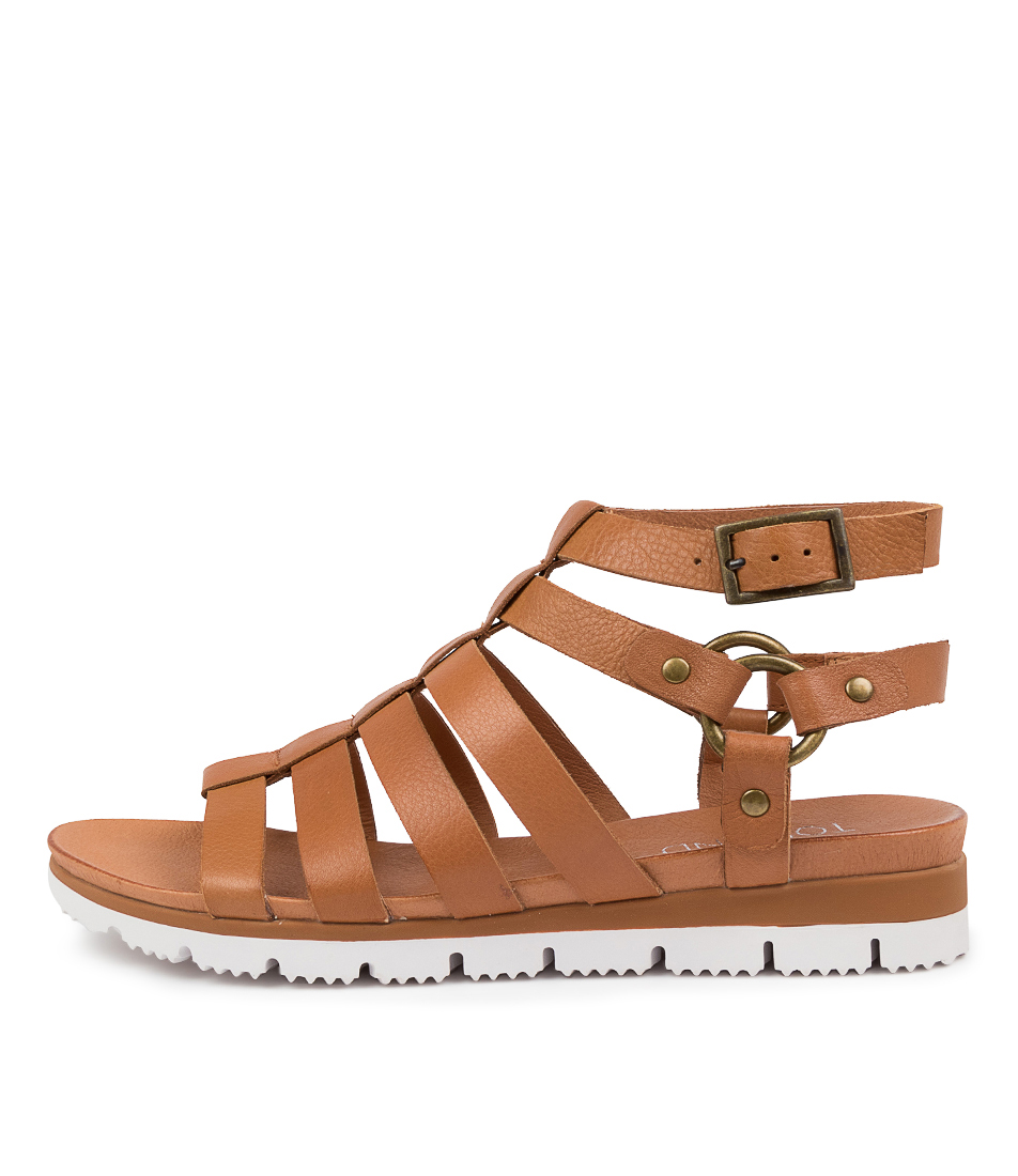Buy Top End Lazar To Scotch Flat Sandals online with free shipping